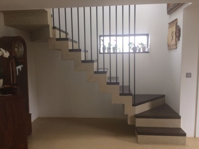 Concrete Stairs In Situ Spiral Helical Concrete Stairs