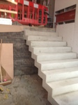 Total rise of stair was 2 metres, the stairs are 1 metre wide