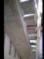 Bespoke concrete stair with central spine